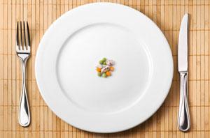 Bei Crash Diäten wird meist gehungert