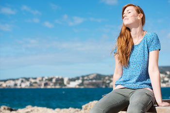 Ein Sonnenspaziergang ist der beste Vitamin-D-Lieferant