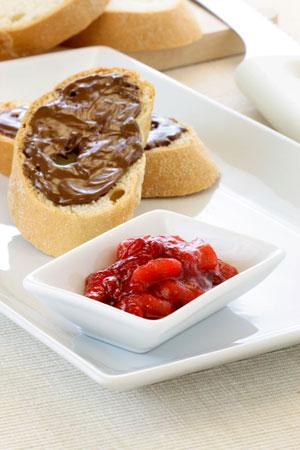 Kohlenhydrat-Frühstück
