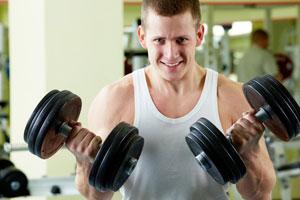 Gewichtszunahme durch Kraftsport