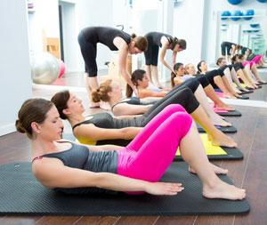 Pilates Gruppe