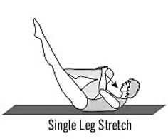 Single Leg Stretch