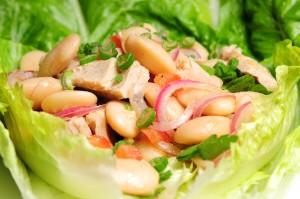 10WBC: Dicke Bohnen Salat