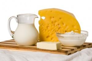 Fettreiche Milchprodukte meiden!