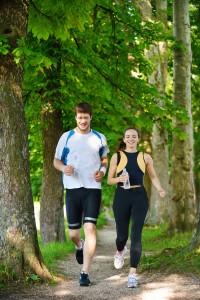 Mit Bewegung Cholesterin in Griff