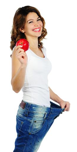 Helfen Äpfel beim Abnehmen?