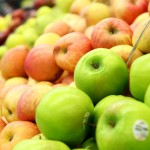 Apfelsorten im Supermarkt