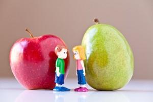 Apfel- oder Birnentyp?