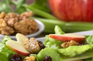 Gesunde Küche mit Nüssen