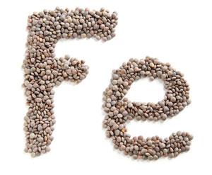 Eisengehalt von Lebensmitteln