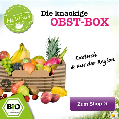 HelloFresh Obstbox