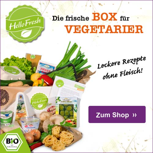 HelloFresh Veggie Kochbox
