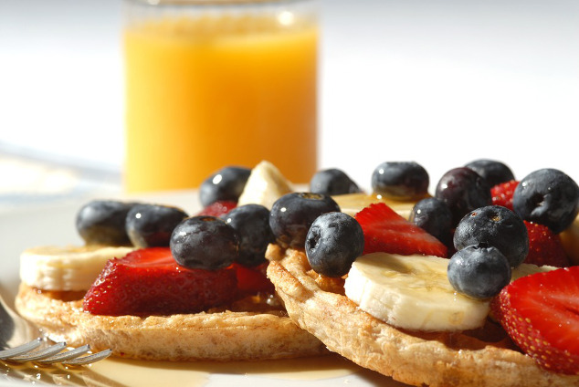 Kohlenhydratreiches Frühstück