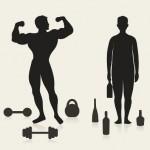 Wie wirkt Alkohol auf Diät und Sport?