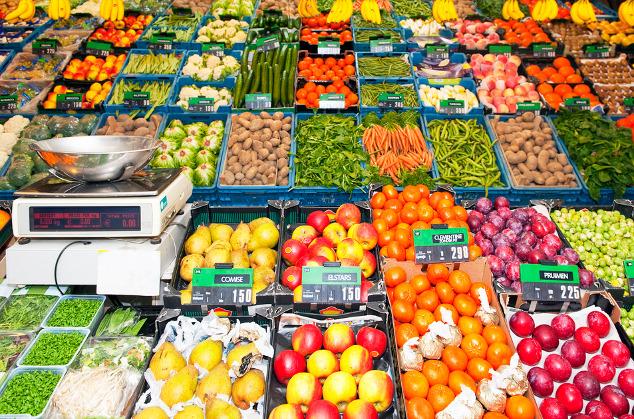 Saisonales Obst & Gemüse