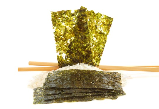 Vitamin B12 in Nori-Algen