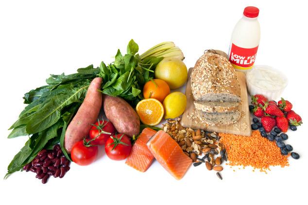 Diät-Tabelle mit niedriger glykämischer Belastung
