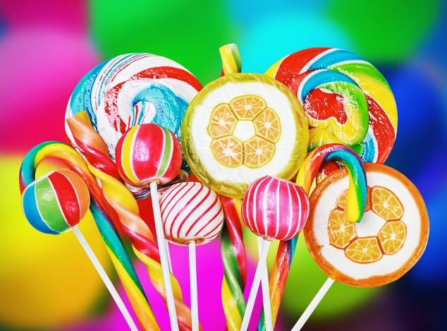 Süßigkeiten aus Zucker