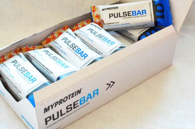 Pulse Riegel Pre Workout