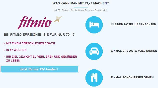 fitmio: 79,- Euro