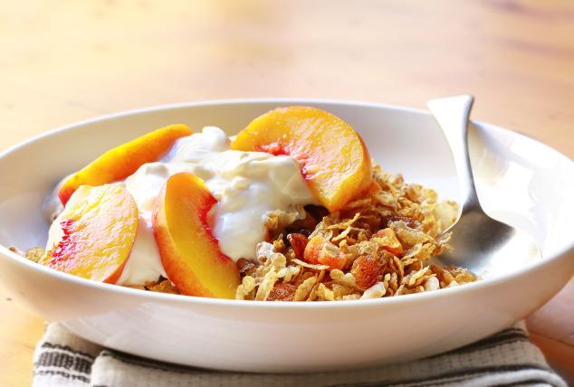 Müsli mit Aprikose und Joghurt