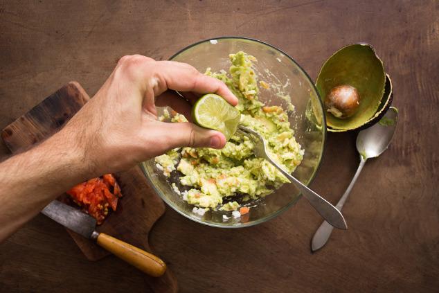 Avocado und Säure