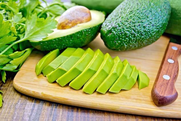 Avocado-Streifen
