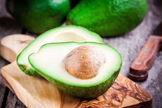 Avocadohälften