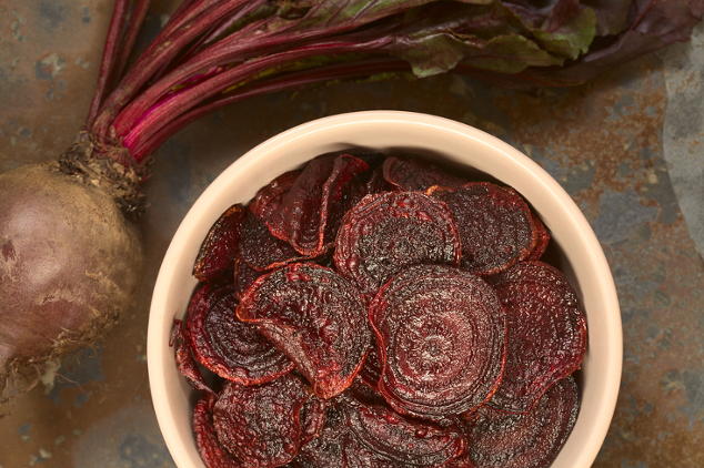 Rote-Beete-Chips