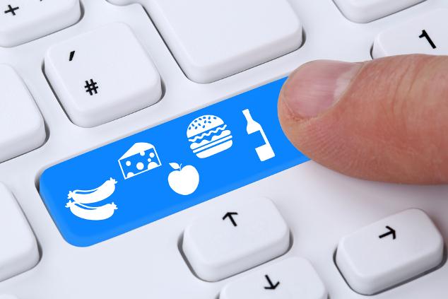 Lebensmittel online shoppen