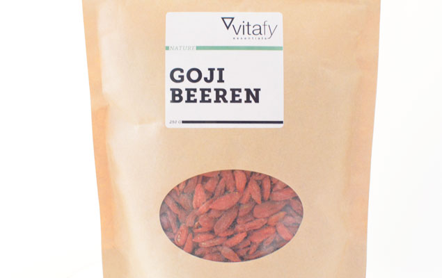 Vitafy Essentials Goji Beeren