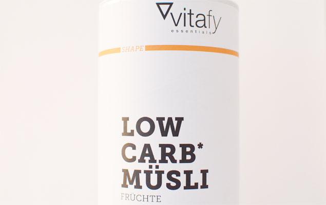 Vitafy Essentials Low Carb Müsli Frucht