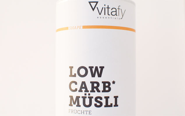 Vitafy Essentials Low Carb Müsli Frucht
