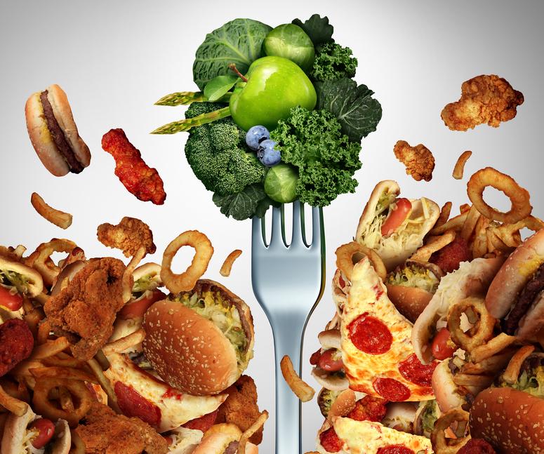 Überlegenheit durch gesunde Ernährung