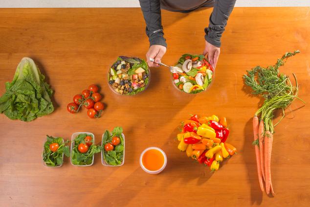 Planung gesunder Mahlzeiten
