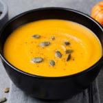 Kürbis-Curry-Kokos-Suppe