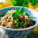 Mediterraner Kichererbsen-Linsen-Salat: Veggie-Power!