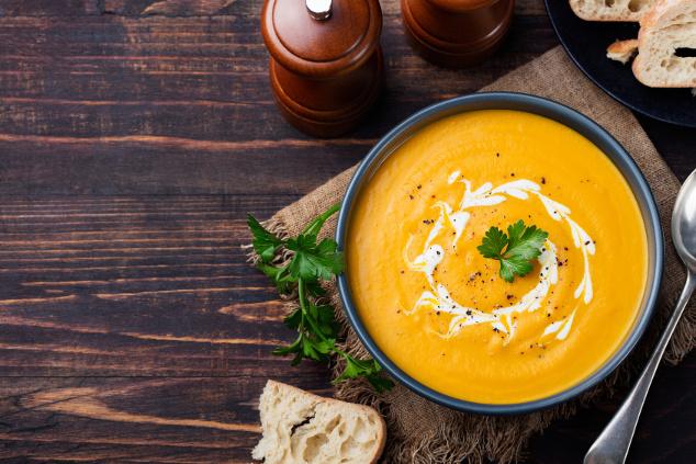 Schnelle Thai-Kürbissuppe