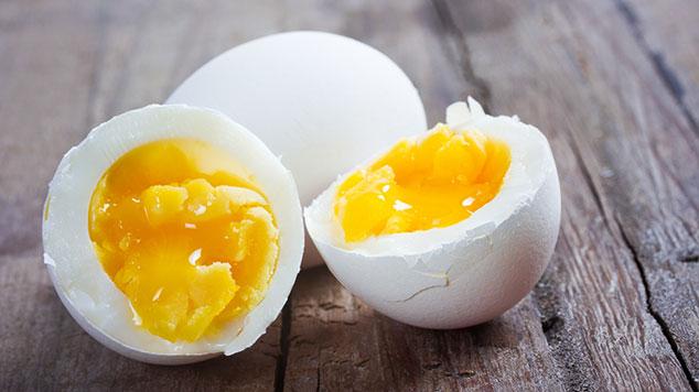 Eier gekocht