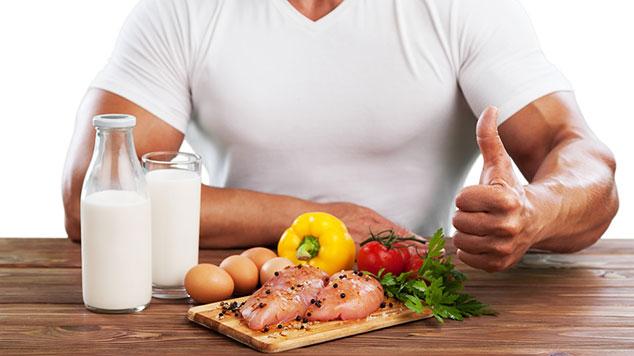 Lebensmittel zum Muskelaufbau