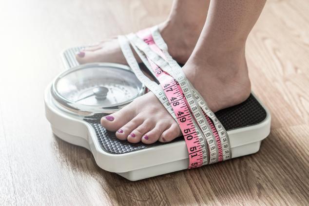 Körpergewicht kontrollieren