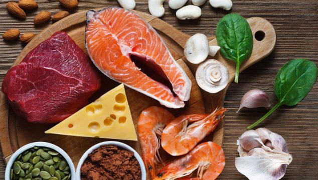 Zinkbedarf decken: Tabelle mit Lebensmitteln