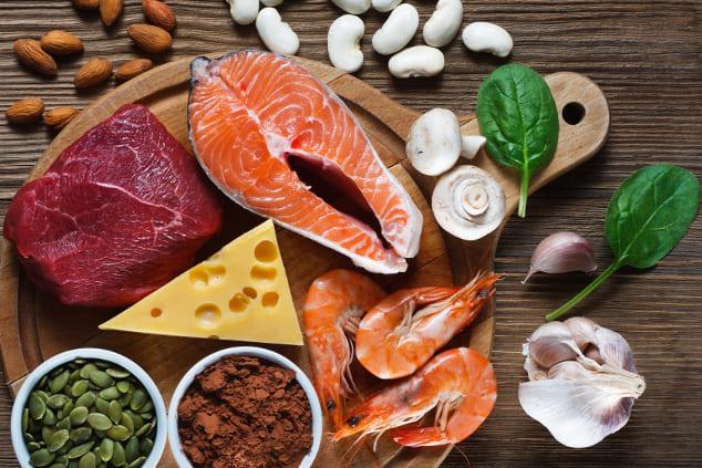 Zinkbedarf decken: Tabelle mit zinkhaltigen Lebensmitteln