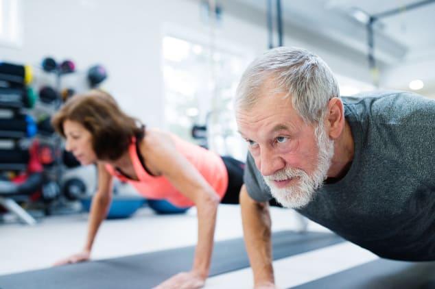 Widerstandstraining im Alter