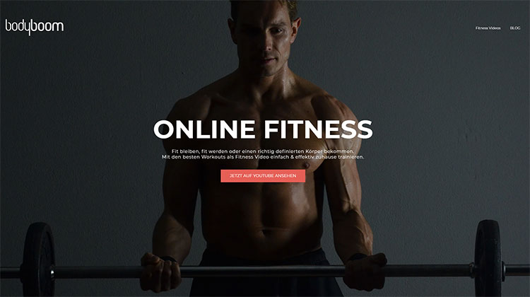 Bodyboom Online-Fitnesstudio