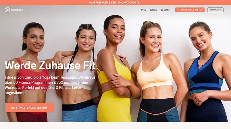 Gymondo Online-Fitnessprogramme