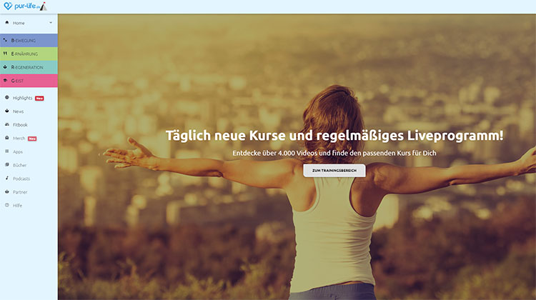 Pure-Life Online-Gym